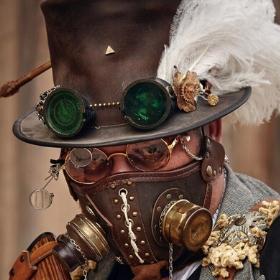 Masques Steampunk pour déguisement Halloween