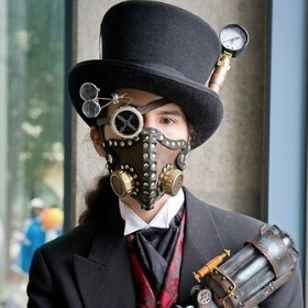 Masques Steampunk pour costumes Carnaval