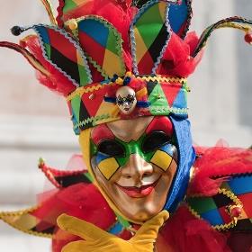 Masques Vénitiens pour costumes Carnaval