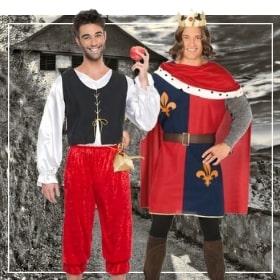 Costume médiévaux hommes