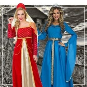 Costume médiévaux femmes