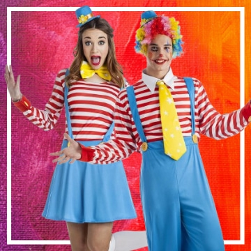 Boutique en ligne de déguisements du cirque pour les couples