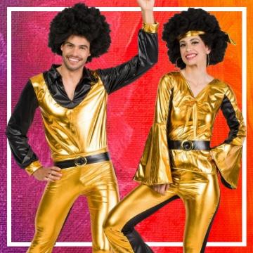 Boutique en ligne de déguisements Disco pour les couples