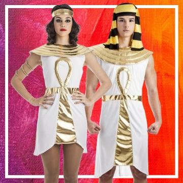 Boutique en ligne de déguisements égyptiens pour les couples