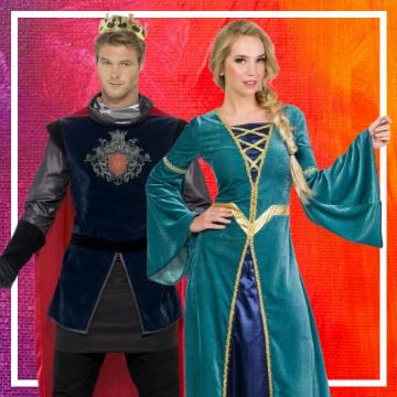 Boutique en ligne de déguisements du Moyen Âge pour les couples