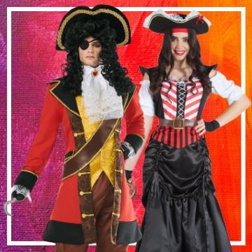 Boutique en ligne de déguisements pirates pour les couples