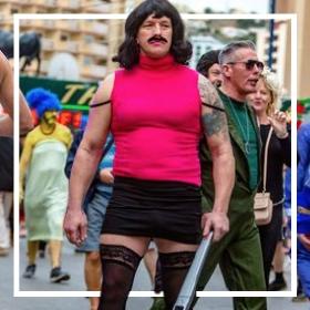 Achetez en ligne les costumes EVG et EVJF les plus originaux pour hommes et femmes