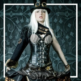 Achetez en ligne les costumes Steampunk les plus originaux pour hommes et femmes