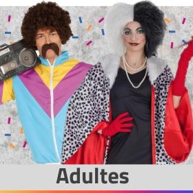 Idées costumes adultes pour hommes et femmes