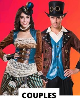 Idées pour se déguiser avec des costumes carnaval originaux pour couples