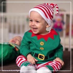 Achetez en ligne les costumes elfes pour bébés les plus originaux