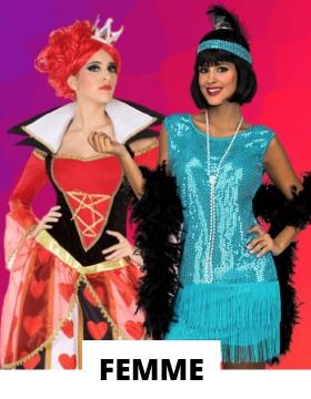 Idées pour se déguiser avec des costumes carnaval originaux pour femmes