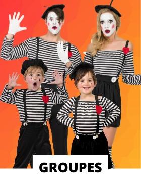 Idées pour se déguiser avec des costumes carnaval originaux pour grands groupes