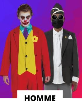 Idées pour se déguiser avec des costumes carnaval originaux pour hommes