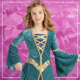 Acheter en ligne les costumes Moyen Âge les plus originaux pour filles