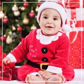 Achetez en ligne les costumes Noël pour bébés les plus originaux