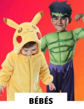 Idées pour déguiser les bébés avec des costumes originaux de carnaval