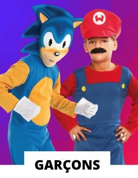 Idées pour déguiser les garçons avec des costumes originaux de carnaval
