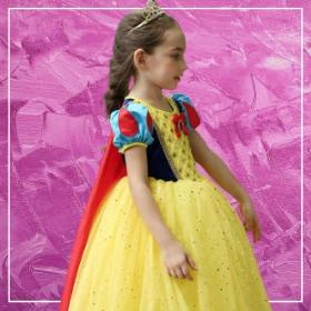 Acheter en ligne les costumes princesses Disney les plus originaux pour filles