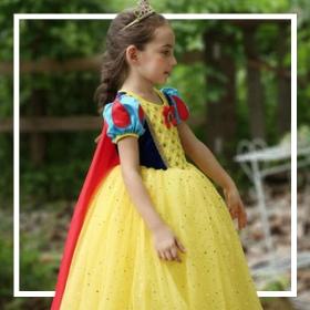 Acheter en ligne les costumes de Princesses Disney les plus originaux pour filles