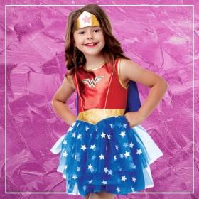Acheter en ligne les costumes Super-héroïnes les plus originaux pour filles