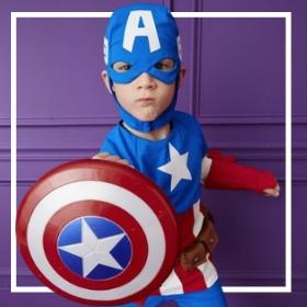 Acheter en ligne les costumes de super-héros les plus originaux pour enfants