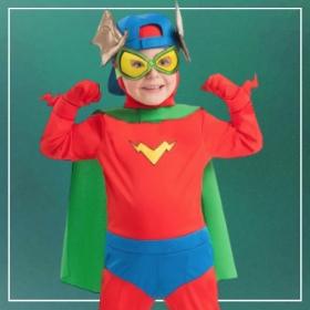 Acheter en ligne les costumes Superzings les plus originaux pour garçons