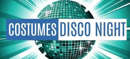 Costumes et robes Disco pour hommes, femmes et enfants