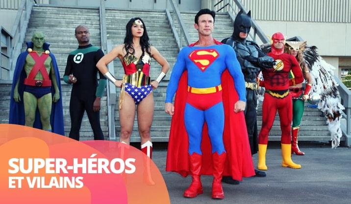 Achetez costumes super-héros pour femme, homme, garçon et fille