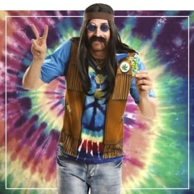 Costumes hippies pour homme