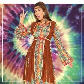 Costumes hippies pour femme