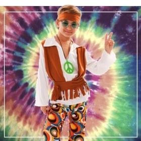 Costumes hippies pour garçon