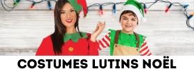 Déguisements Lutins assistants du Père Noël