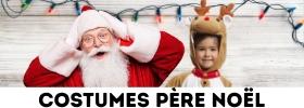 Déguisements Père Noël et robe Mère Noël